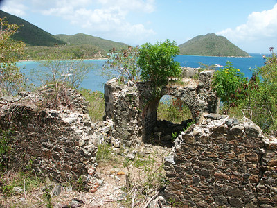 Ruins on the side of Leinster Point   (Jul 01, 2002, 11:33am)