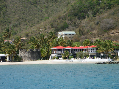 Old and new buildings on Tortola south coast   (Jul 01, 2002, 02:34pm)