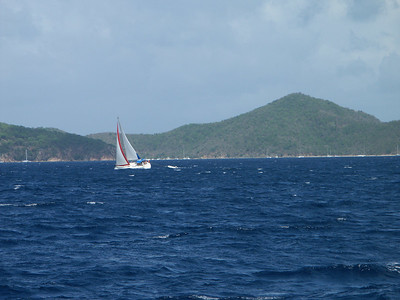Another sailboat against the backdrop of St. Jo   (Jul 01, 2002, 03:06pm)