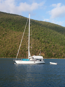 Another sailboat buttoned down for the night   (Jul 01, 2002, 06:48am)
