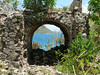 <b>Leinster Bay seen through the ruins of an arch</b>   (Jul 01, 2002, 11:31am)