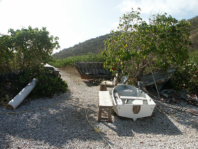 Broken down boats on shore of Great Harbour   (Jul 03, 2002, 08:24am)