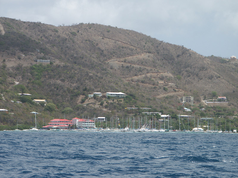 <b>A forest of masts on the shore of Tortola</b>   (Jul 03, 2002, 11:08am)
