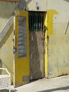 The door to Conrad's house on Peter Island   (Jul 03, 2002, 09:32am)
