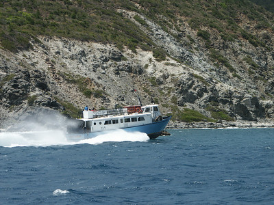 Virgin Gorda ferry passing by east Tortola   (Jul 04, 2002, 01:47pm)