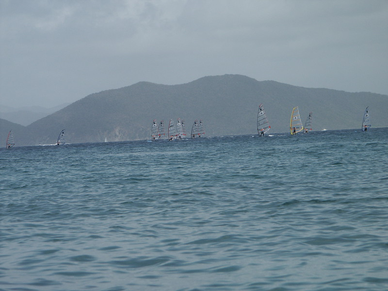<b>Sailboard races off of Spanish Town</b>   (Jul 04, 2002, 11:23am)