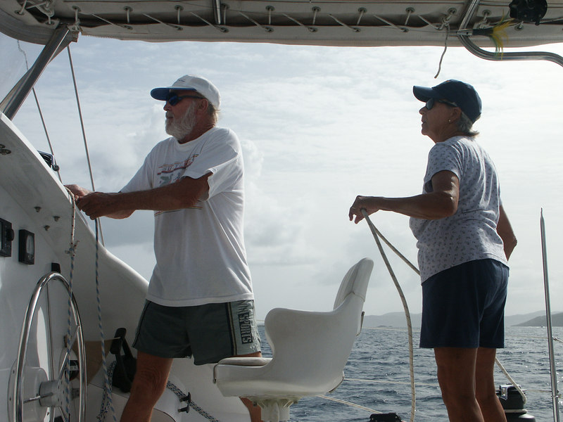 <b>Captain and crew work the boat</b>   (Jul 04, 2002, 04:10pm)