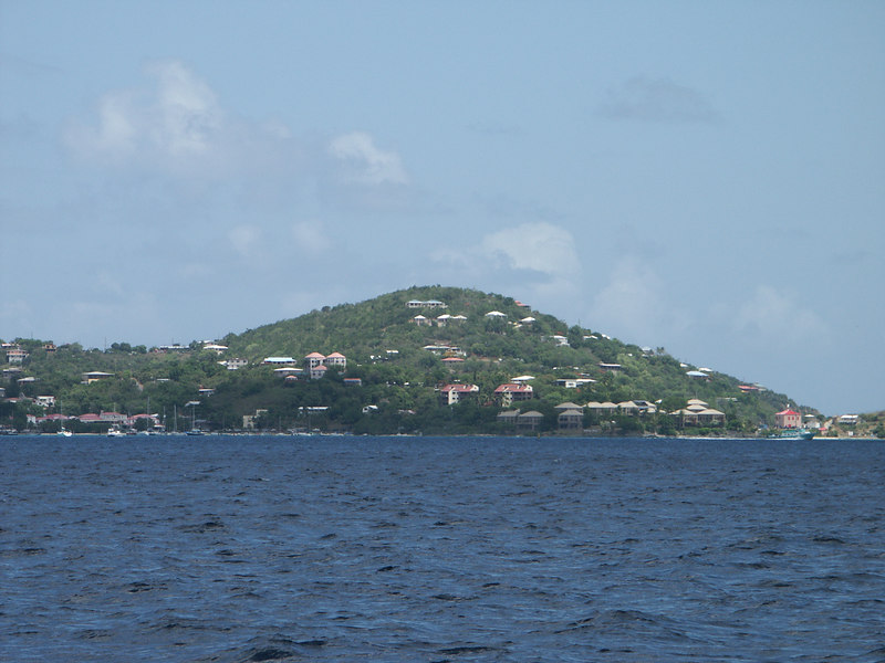 <b>St. Thomas seen from St. John</b>   (Jul 05, 2002, 01:29pm)