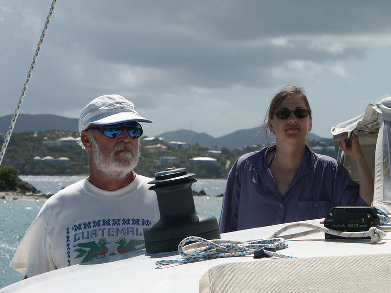 <b>Captain Theo and Daphne during one sail</b>   (Jul 05, 2002, 02:37pm)