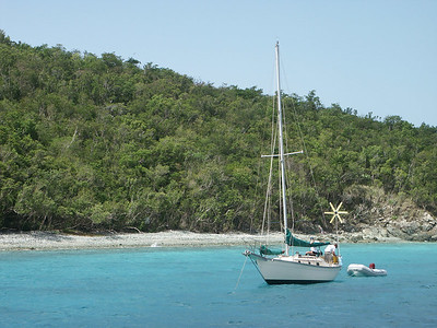 Another sailboat parked in Salomon, St. John   (Jul 05, 2002, 09:56am)