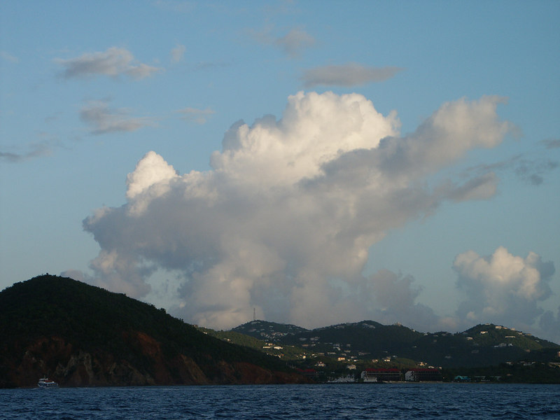 <b>Clouds in morning light over St. Thomas</b>   (Jul 06, 2002, 06:18am)