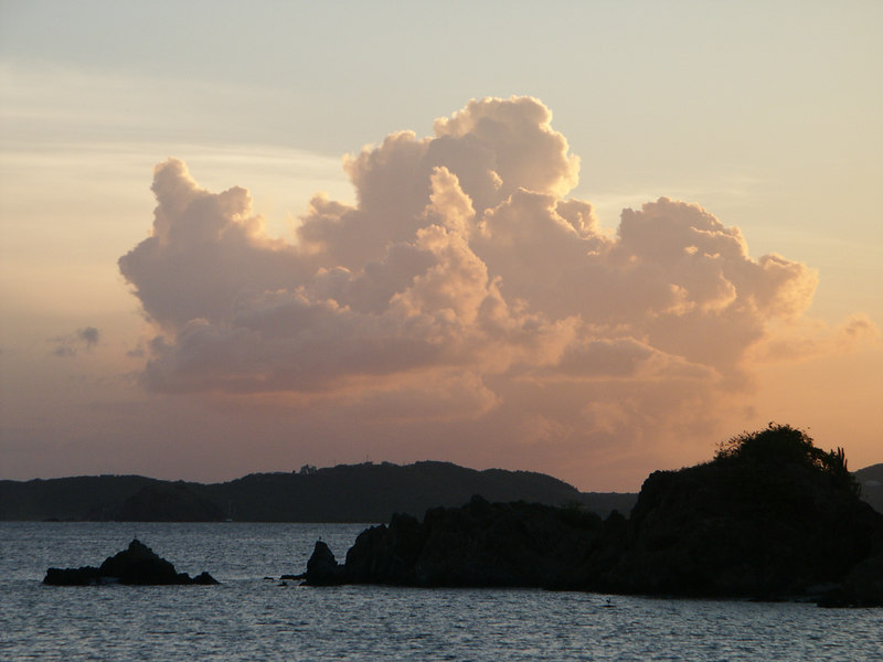 <b>Sunset over St. Thomas</b>   (Jul 05, 2002, 06:51pm)