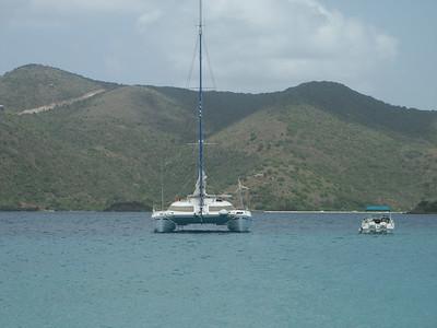Cat-Maudy seen from Green Cay   (Jun 30, 2002, 11:42am)