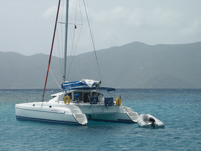 Shaka Cat, a catamaran visiting Green Cay   (Jun 30, 2002, 10:19am)