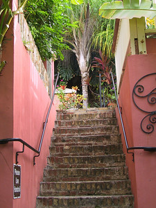 A section of the stairs next to the 1829 Hotel   (Jun 29, 2002, 07:47am)