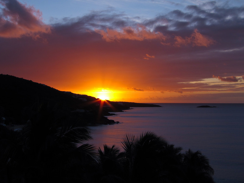 Sunrise over Frenchman Bay, St Thomas<br /> (Gallery: Travel Journals > US Virgin Islands 11)