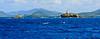 Buoy in Virgin Islands, between St. Thomas and St. John