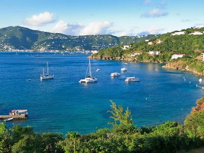 Pacquereau Bay in St Thomas Harbor