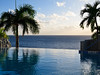 Endless swiming pool at the Marriott Frenchman Reef
