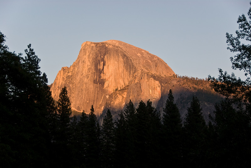 <b>Half Dome at Sunset from Sentinel Bridge</b>   (Sep 17, 2007, 05:50pm)