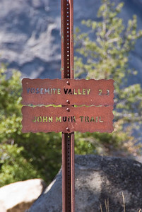 Sign along John Muir Trail   (Sep 17, 2007, 12:05pm)