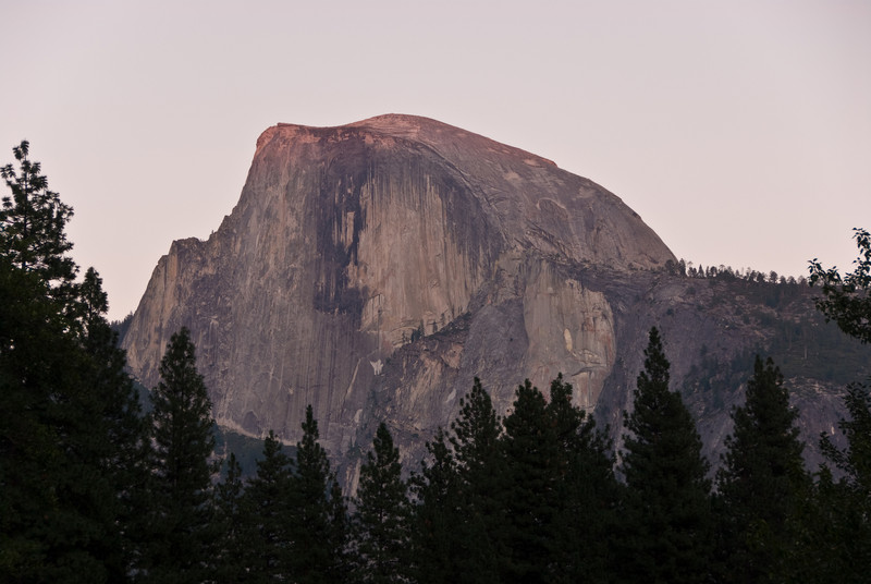 <b>Half Dome at Sunset from Sentinel Bridge</b>   (Sep 17, 2007, 06:08pm)
