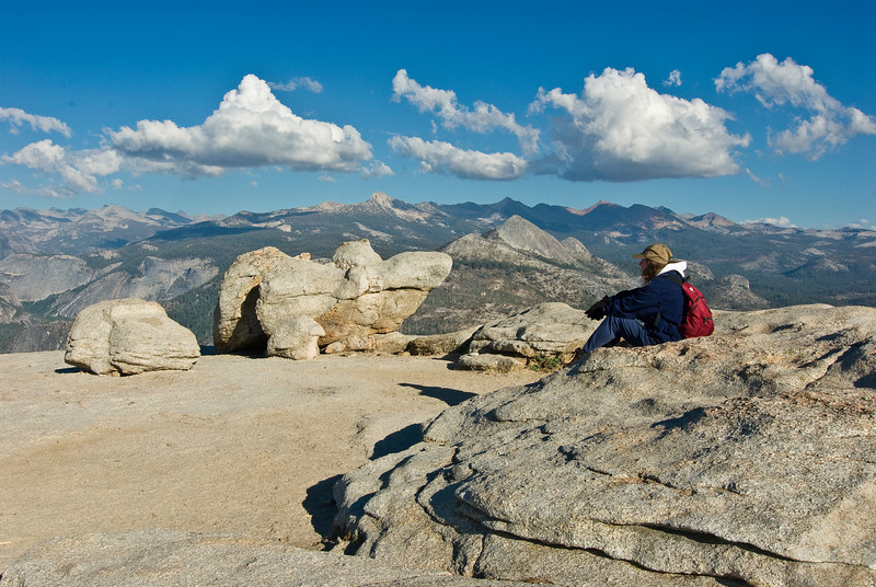 <b>Ranger Donna on Sentinel Dome</b>   (Sep 16, 2007, 04:17pm)