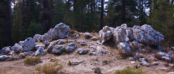Quartzite pile on trail to Taft Point   (Sep 16, 2007, 02:01pm)