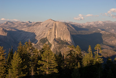 Half Dome at sunset from Sentinel Dome   (Sep 16, 2007, 05:39pm)