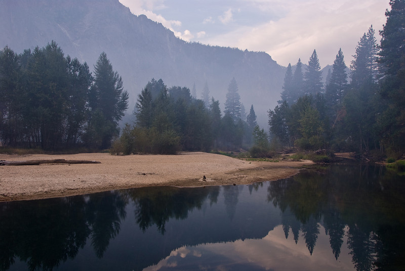 <b>Reflections in Merced River</b>   (Sep 19, 2007, 07:44am)