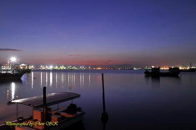 A view from Chew Jetty