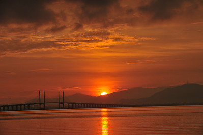 Sunrise @ Penang Bridge 2