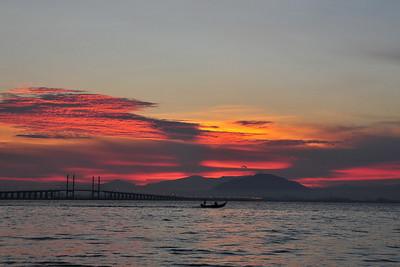 Sunrise @ Penang Bridge