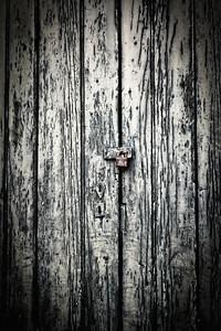 A random locked door in the French Quarter.