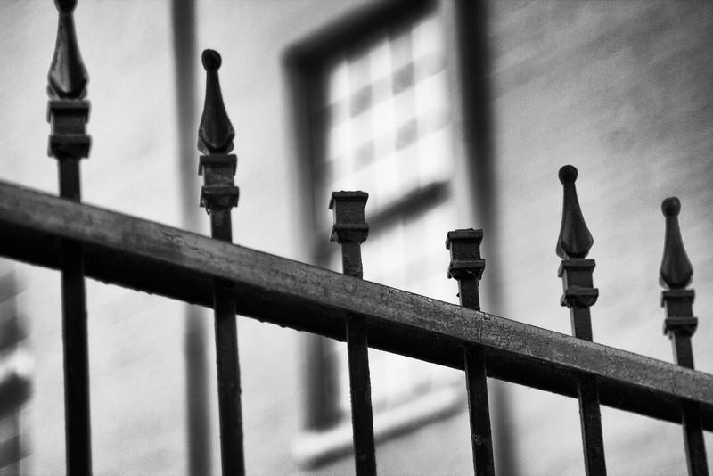 Wrought-iron fences, New Orleans, LA