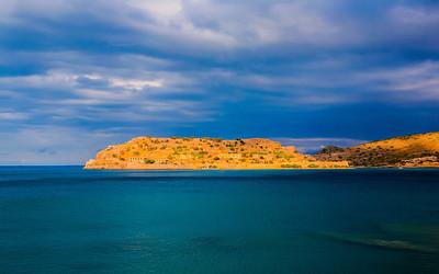 Sea views from Crete, Greece