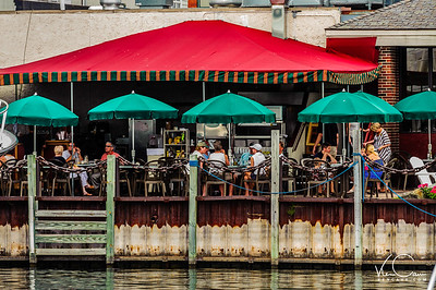 Waterfront restaurant in Harbor Springs Michigan