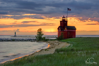 Big Red Lighhouse