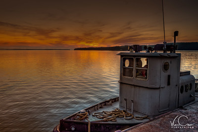 Tugboat on Lake Superior