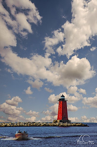 Manistique East Breakwater Light