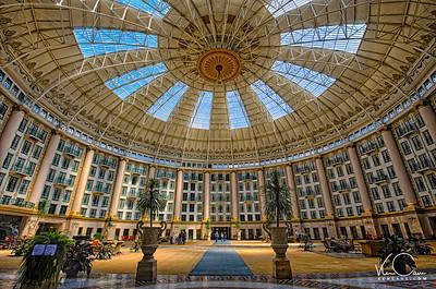 West Baden Hotel Lobby-Indiana