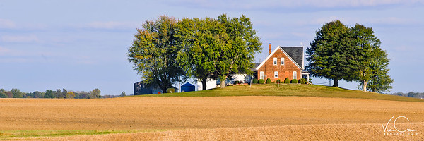 Typical Indiana farmhouse