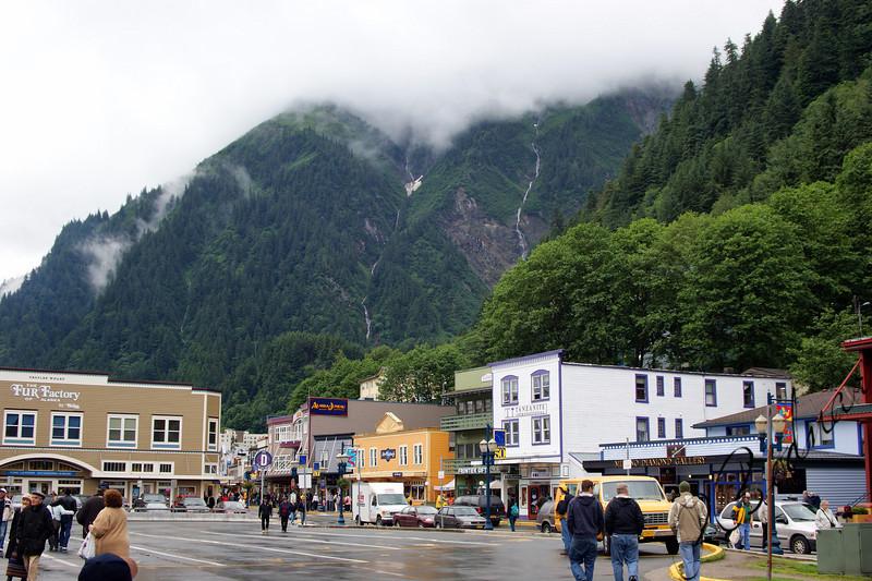 Photo Robert Bodnar......Downtown Juneau