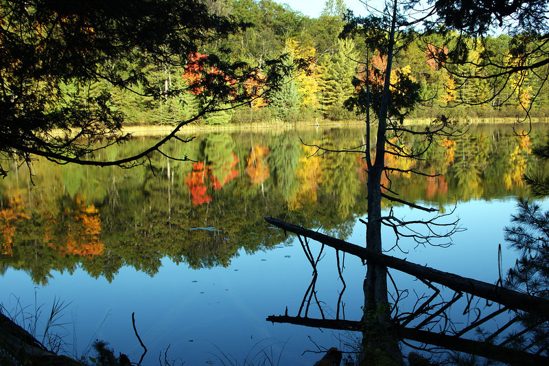 Camp Barakel Shear Lake, Fairview MI. 10-10-2009