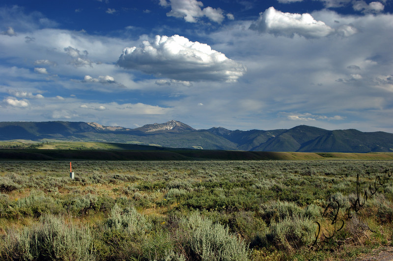 Photo By Bob Bodnar.......................................Mountain Range in Wyoming