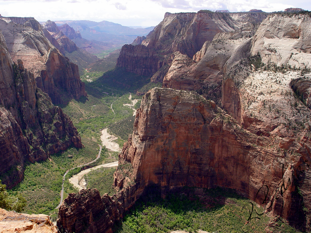 Photo By Robert Bodnar.........................................Angelslanding Zion National Park