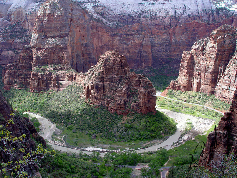 Photo By Robert Bodnar............................AngelsLanding Zion National Park