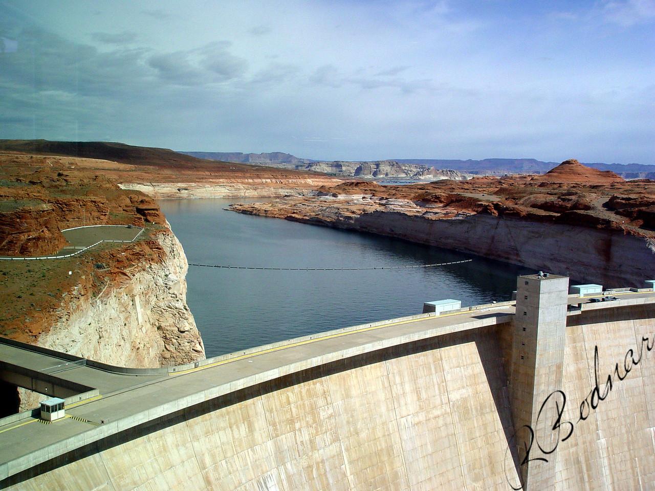 Photo By Robert Bodnar............................................Glen Canyon Dam