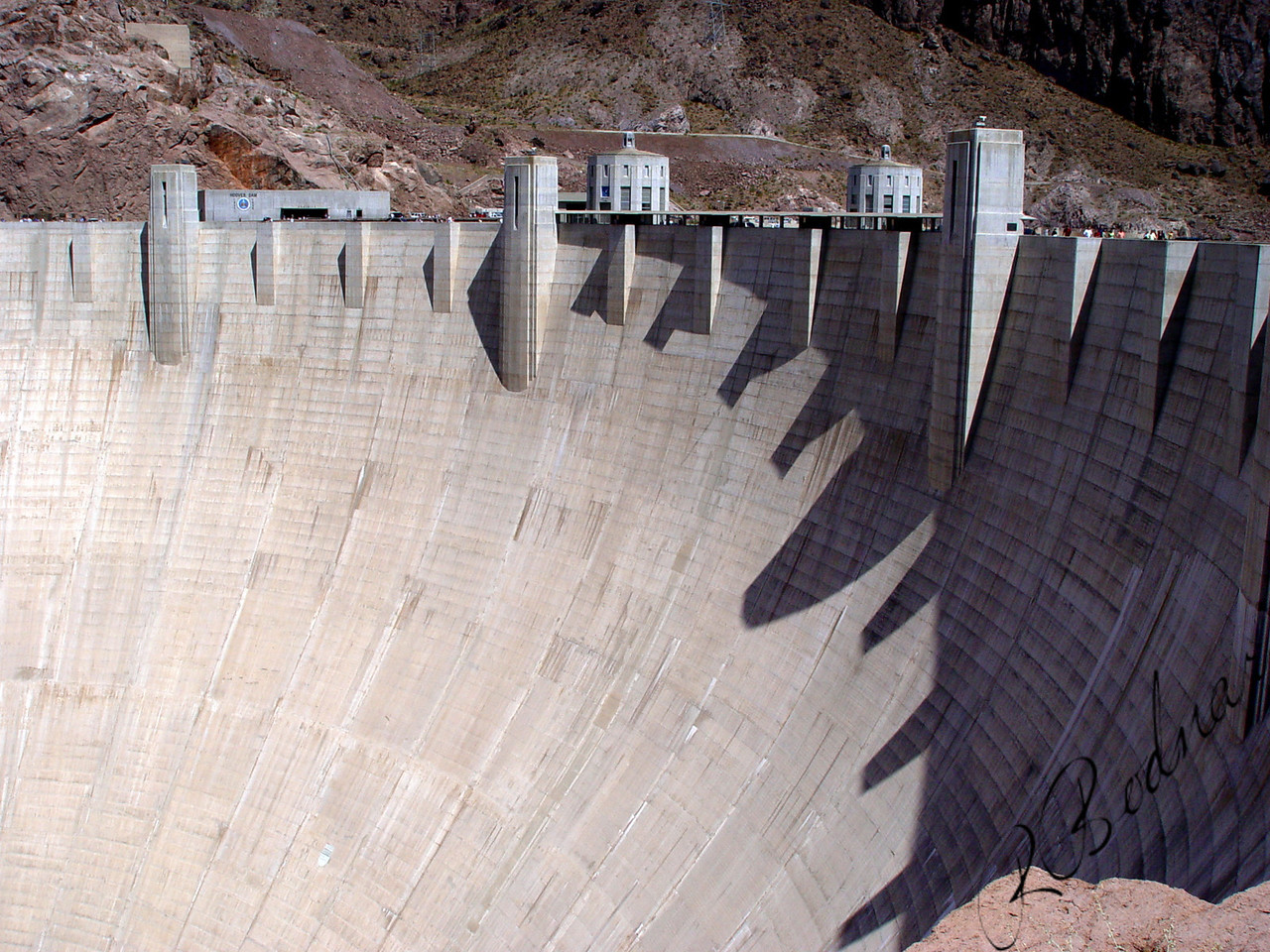 Photo by Robert Bodnar...................................Hoover Dam