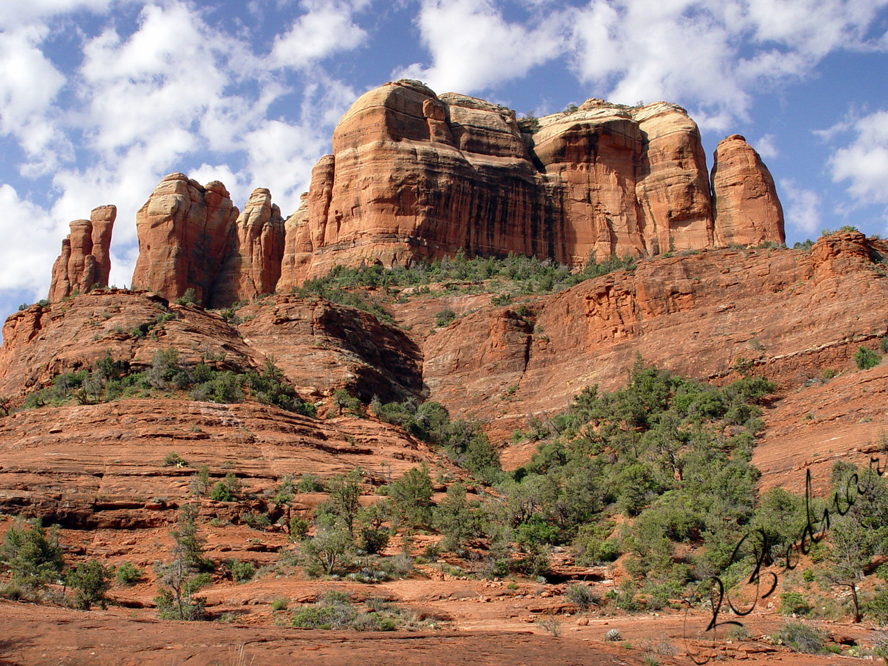 Photo By Robert Bodnar.......................................Bell Rock, Sedona AZ